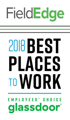 FieldEdge Named One Of America's Best Places To Work For 2018