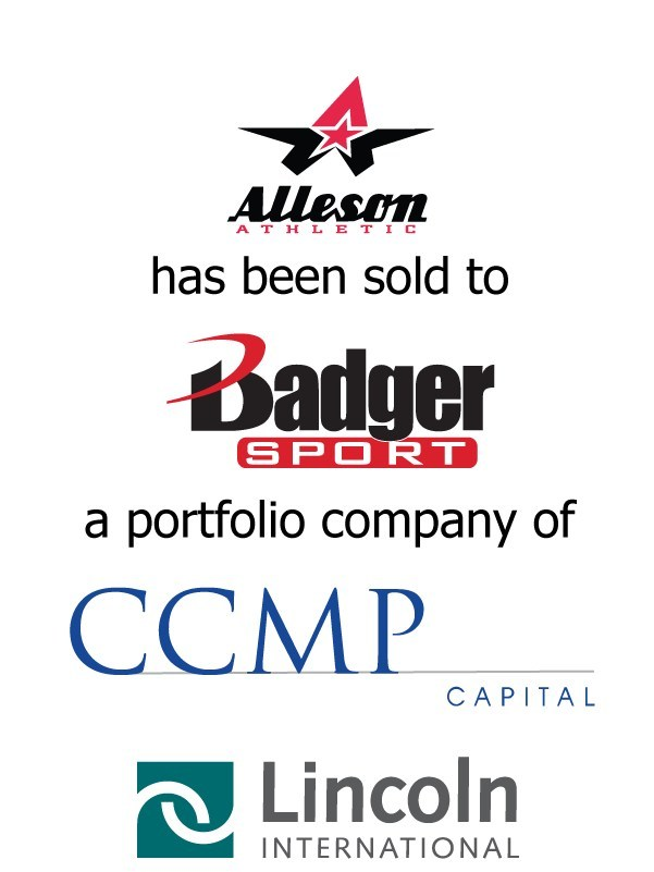 Lincoln International represents Alleson Athletic in a sale to Badger Sportswear, a portfolio company of CCMP Capital Advisors