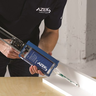AZEK® Building Products, the leading provider of high performance cellular PVC trim, is announcing a new line of professional adhesives and sealants engineered to expertly bond and protect AZEK® Trim and Moulding.