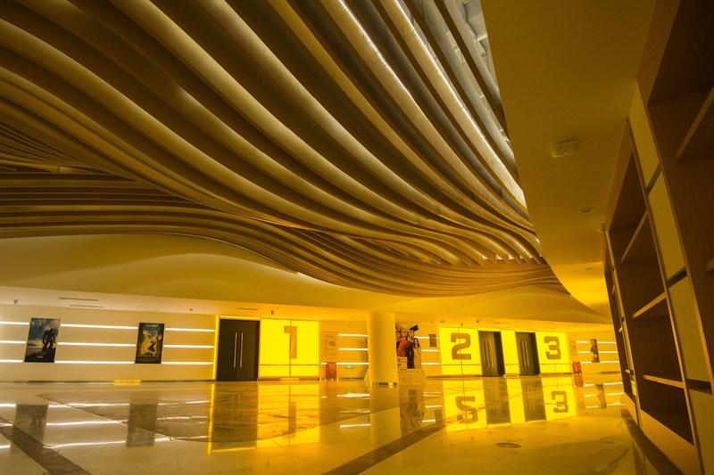 Cinema Hallway