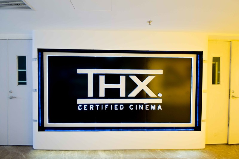 THX Logo Lightbox in Cinema