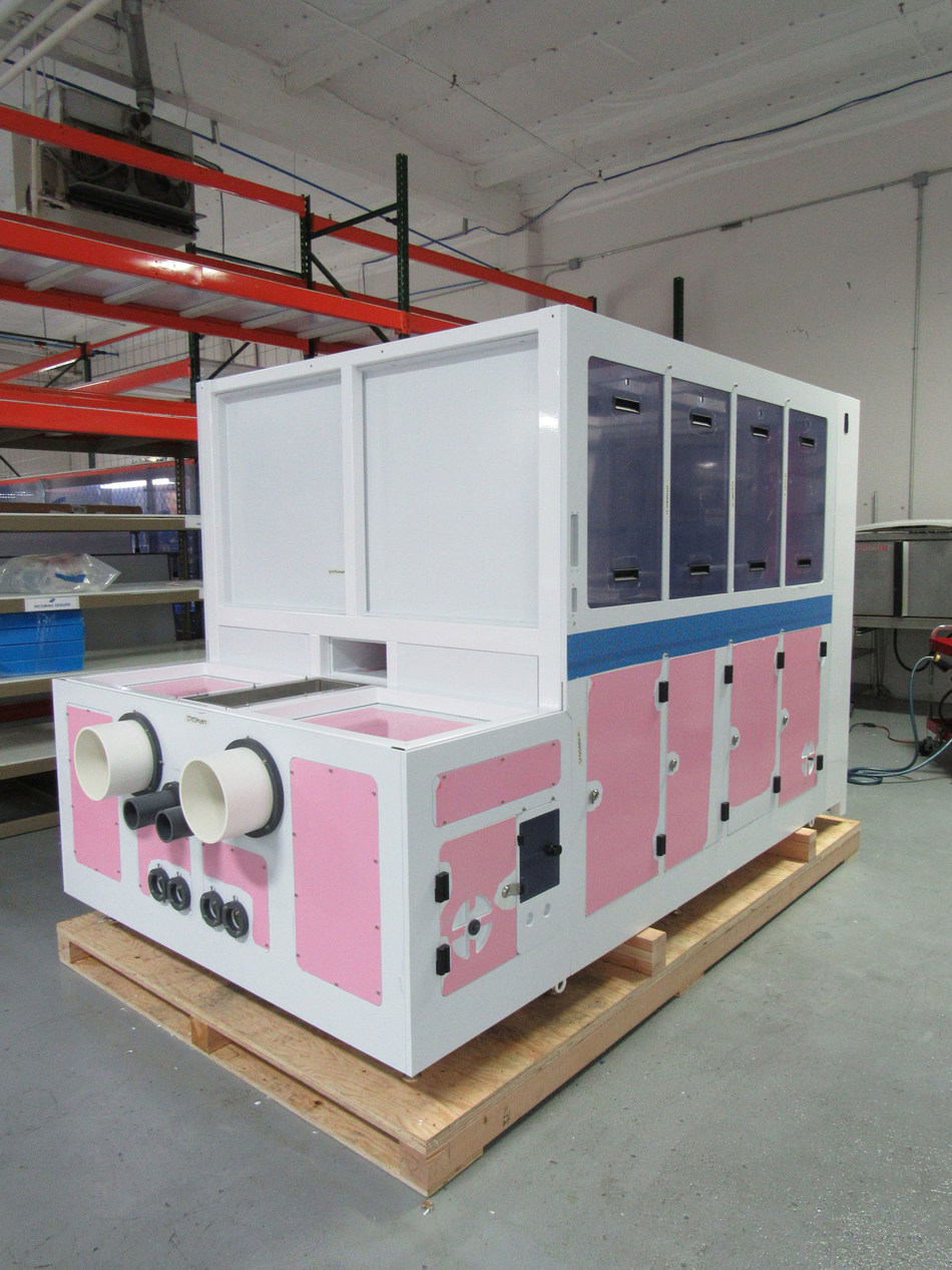"""ClassOne's Solstice(R) wet-chemical processing system relies on Apex Industries' housing/components made with Vycom's Flametec (R) Cleanroom PVC-C. ANSI FM-4910 compliant, """"the material is chemical and moisture-resistant, machinable, easy to fabricate and stands up to punishing environments,"""" says Jason Shostrand of Apex. """"It allows us to design and manufacture solutions that serve a multitude of semiconductor wet process tools used for cleaning, etching, plating and chemical distribution."""