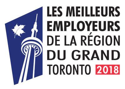Les meilleurs employeurs de la région du grand Toronto 2018 (Groupe CNW/Enterprise Holdings)