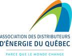 Logo : Association des distributeurs d'énergie du Québec (ADEQ) (Groupe CNW/Association des distributeurs d'énergie du Québec)