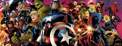 Marvel Entertainment Super Hero's arrive on hoopla digital