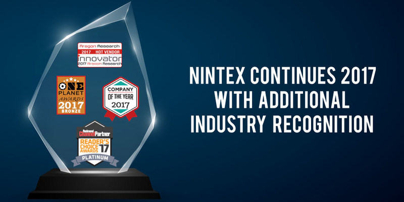 Nintex, the recognized leader in workflow and content automaton (WCA), is pleased to announce receipt of another in a series of 2017 industry awards.