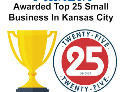 Prineta Selected in Top 25 Businesses in Kansas City with Fewer than 25 Employees