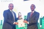 Mr. Sudhir Nunes, CEO Wind Business, Orange Renewable (left) H.E. Mr. Nurul Islam Nahid, MP Minister of Education, Bangladesh (right). (PRNewsfoto/queries@orangerenewable.net +91-)