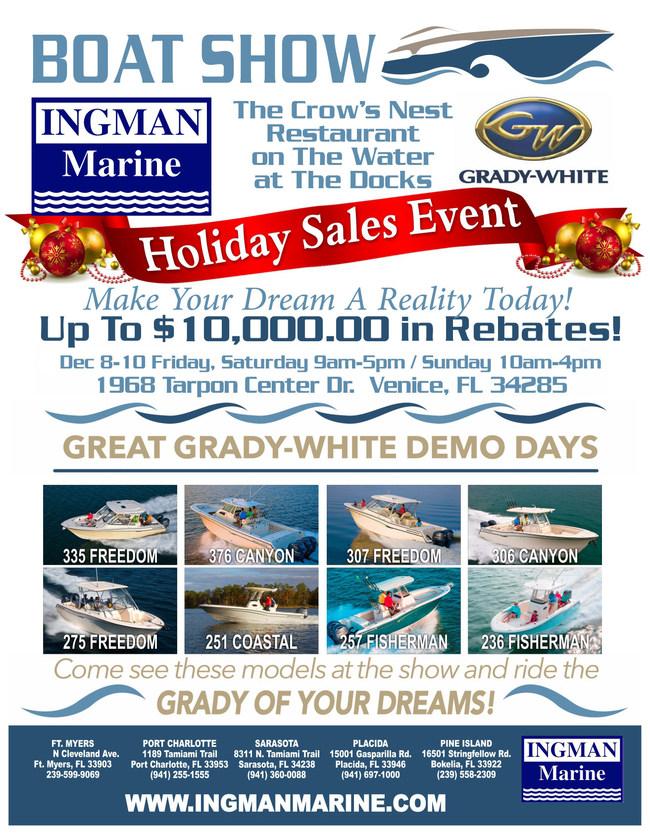 Ingman Marine's 2017 Grady-White Holiday Sales Event