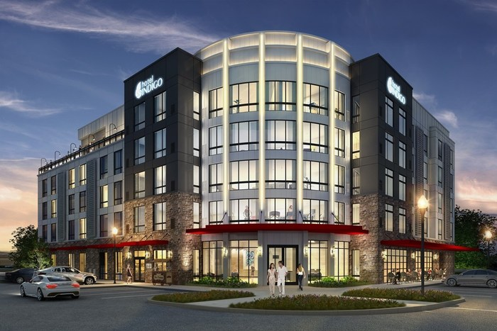 Rendering Of Hotel Indigo R Tuscaloosa Downtown At Riverfront Village