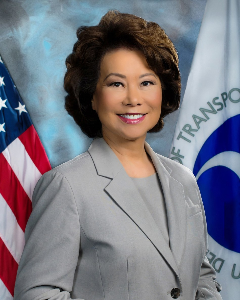 Secretary Elaine L. Chao is currently the U. S. Secretary of Transportation and will keynote the 2018 AutoMobili-D at the North American International Auto Show.