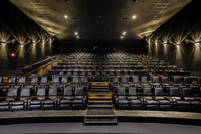 Landmark Cinemas' recliner auditorium (CNW Group/Landmark Cinemas)