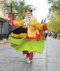 Performance of cultural heritage in the streets for residents and tourists.