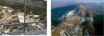Gecko-Imerys Graphite Processing Facility;  Gecko Namibia's Okorusu Mine (CNW Group/Namibia Rare Earths Inc.)