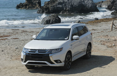 The all-new 2018 Outlander PHEV will be available for the first time in the U.S. by the end of the year.