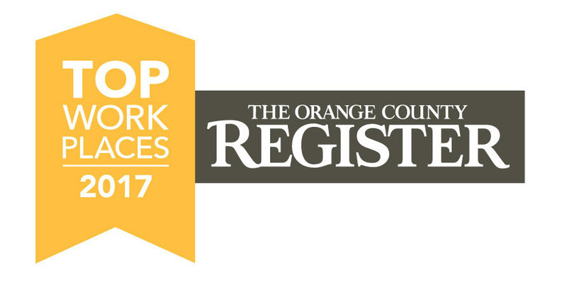 AAG Named a 2017 Orange County Top Workplace