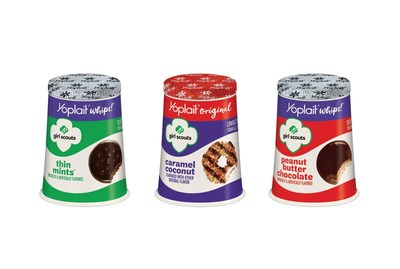 Yoplait introduces Girl Scout Cookie-inspired yogurt