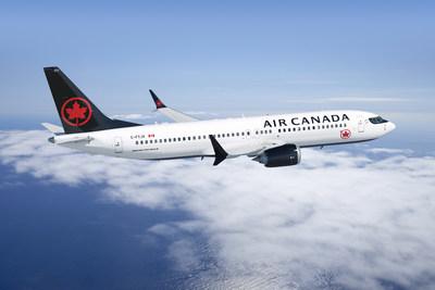 737 MAX de Boeing d'Air Canada (Groupe CNW/Air Canada)