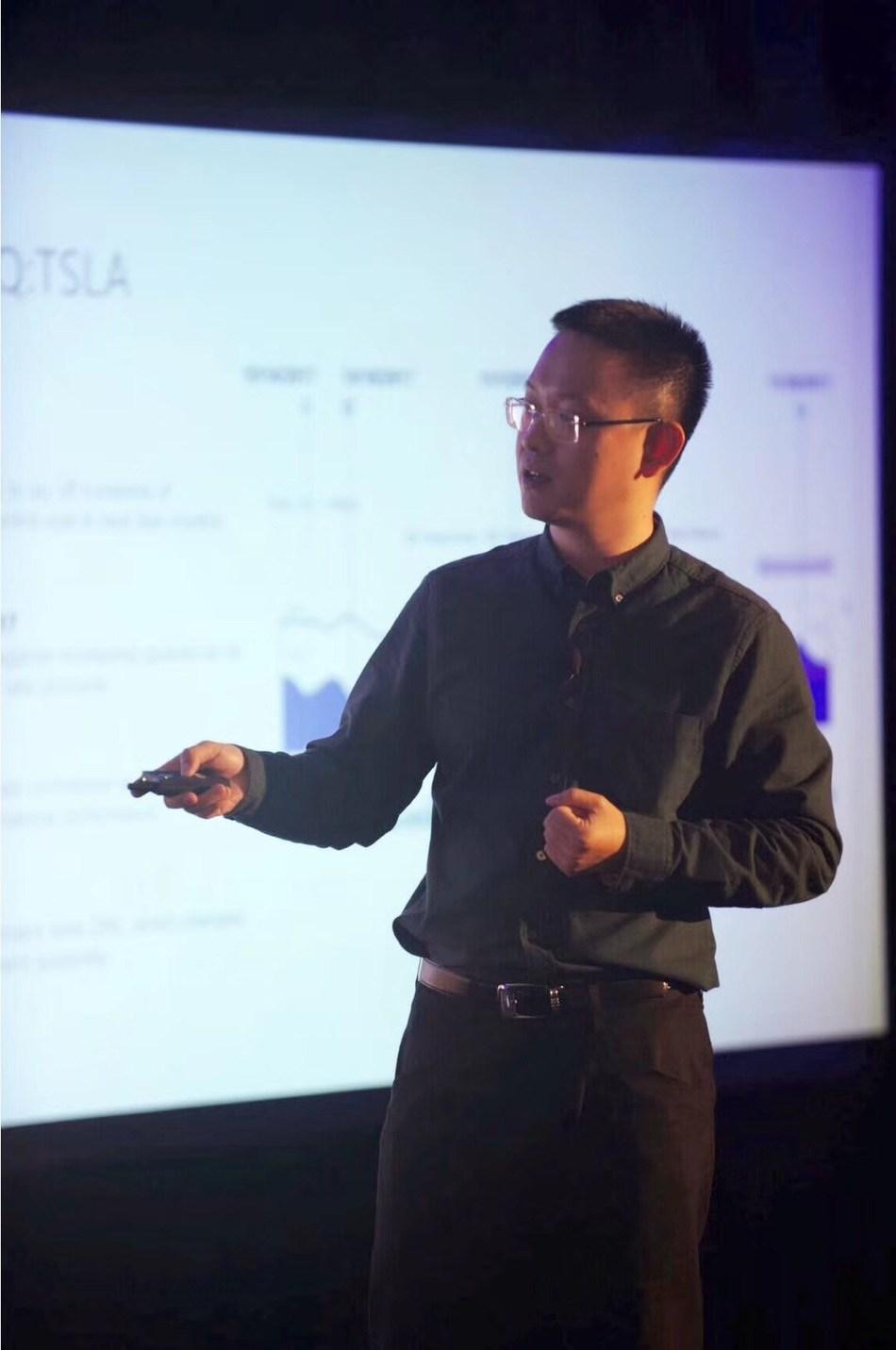 Eric Yu, CEO of GTCOM