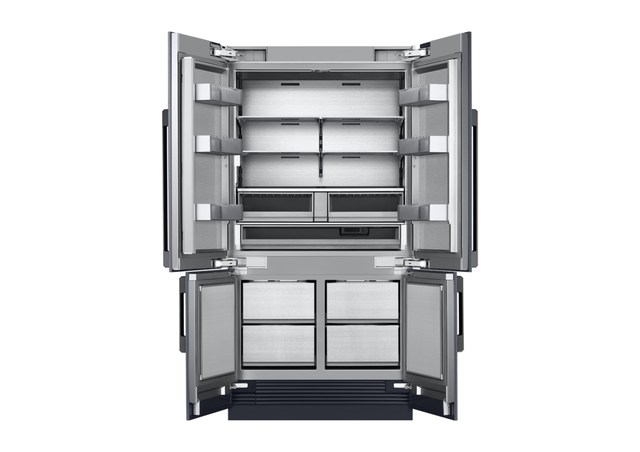Dacor unveils stunning 42 four door french door refrigerator for Dacor 42 refrigerator
