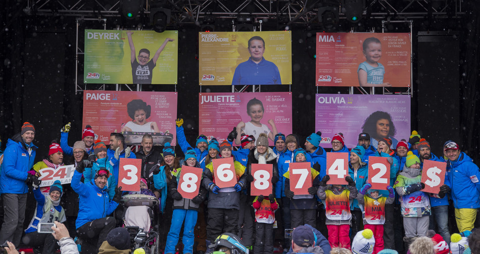 Tremblant's 24h Shatters All Records (CNW Group/24h Tremblant)