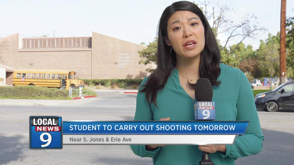 "Screenshot from Sandy Hook Promise's latest PSA, ""Tomorrow's News"""