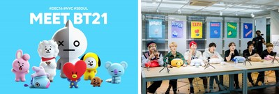 LINE FRIENDS Unveils BT21 Merchandise at Its Flagship Store in New York