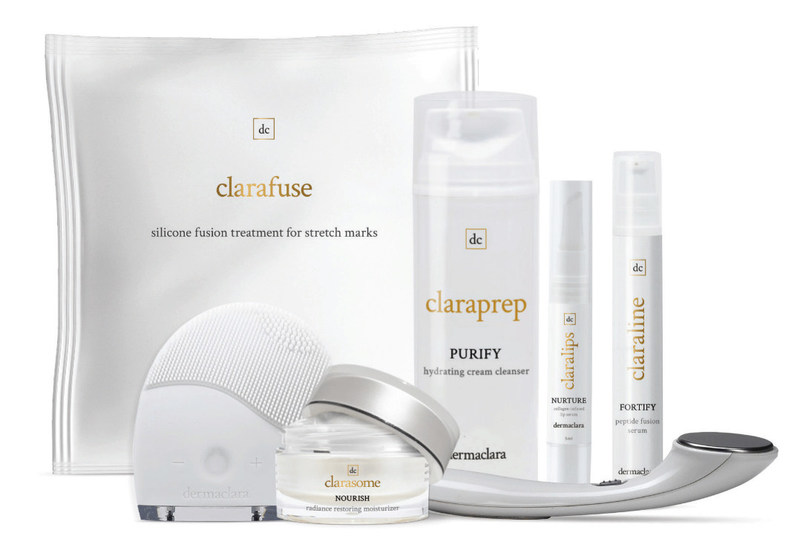 The Deramclara product line featuring Silicone Fusion Technology.