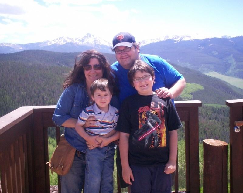Mason Parrish and Family