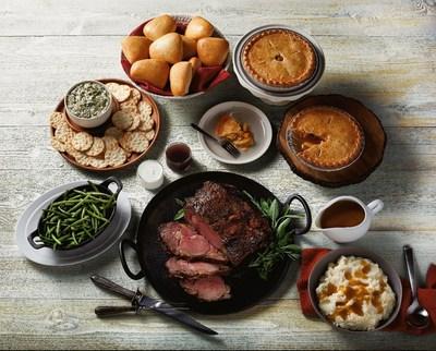 New Boston Market Prime Rib Heat & Serve Meal for 12