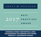 Frost & Sullivan Recognises Nigeria's CreditRegistry Services