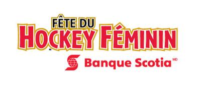 Fête du hockey féminin de la Banque Scotia (Groupe CNW/Scotiabank)