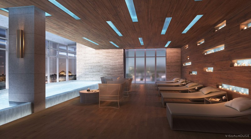 Two Light will feature more than 16,000 square feet of amenity space that rivals that of any luxury apartment or condo building anywhere in the United States including an indoor heated pool and spa retreat.