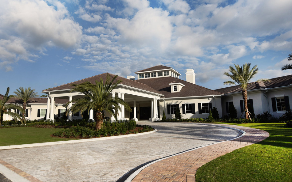 The new $23 Million clubhouse at Quail Ridge Country Club in Boynton Beach, Fla.
