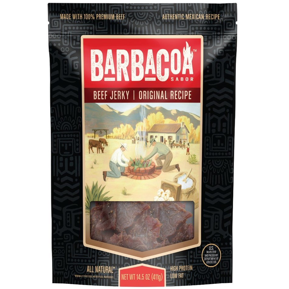 Barbacoa Original Recipe Beef Jerky