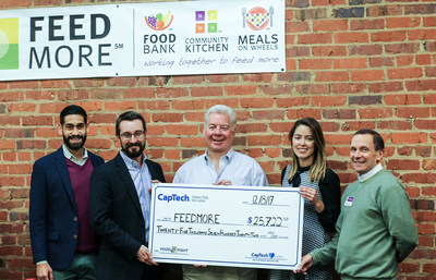 CapTech CapTFood Fight Raises Over $25,000 for FeedMore