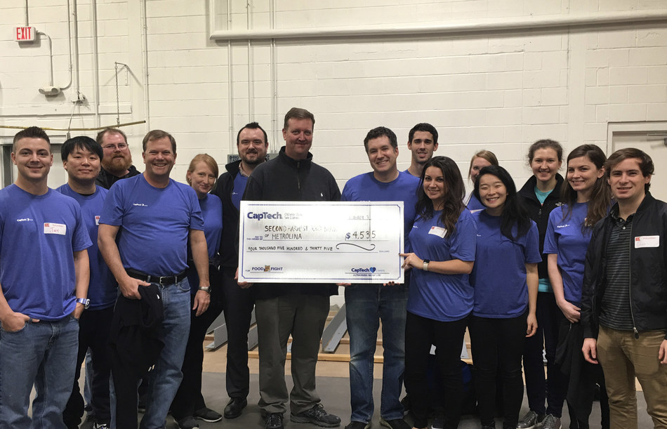 CapTech Charlotte Food Fight for Second Harvest Food Bank of Metrolina 2017