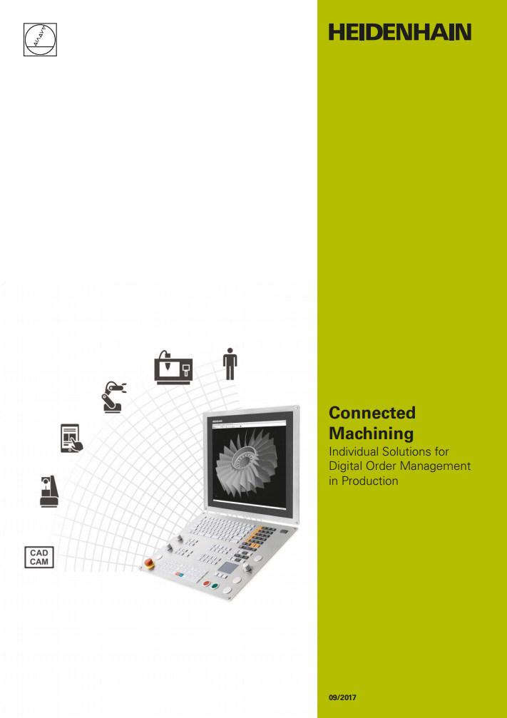 """HEIDENHAIN """"Connected Machining"""" Catalog"""