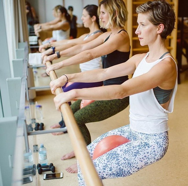 Barre3 Seat Work - Barre3 creates a strong and balanced body through a sequence of holds, small moves, and big moves that engage and tone your muscles, build strength, and energize your entire body.