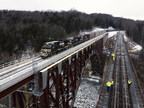 Norfolk Southern begins running trains over new Portageville Bridge, expanding economic opportunities for New York's Southern Tier and New England