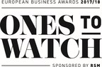 European Business Awards 2017/18 Ones to Watch (PRNewsfoto/European Business Awards)