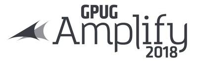 GPUG Amplify 2018 logo.