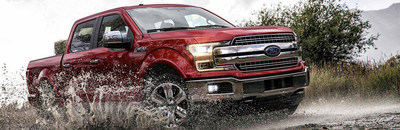The 2018 Ford F-150, America's best-selling pickup truck, is available for test drive and purchase at Harbin Automotive.