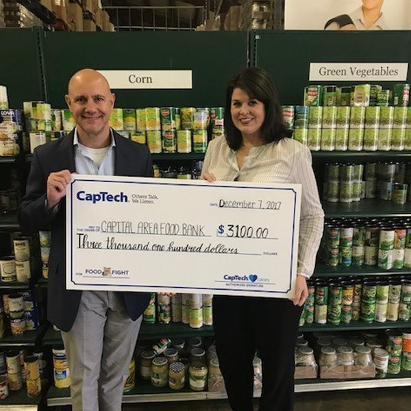 CapTech DC Food Fight Raises Over 7,700 Meals for the Capital Area Food Bank