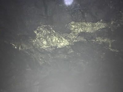 Mineralized vein at Farellon (CNW Group/Altiplano Minerals)