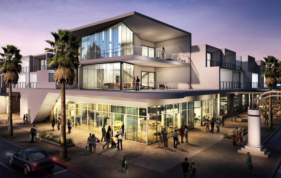 Hyatt Andaz Hotel Palm Springs Rendering
