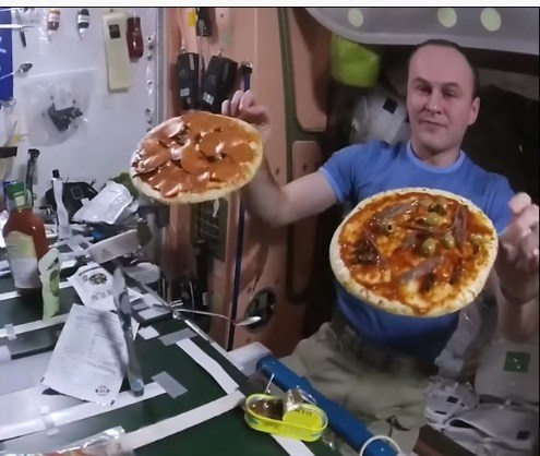 I.S.S. Pizza Party