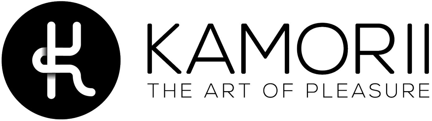 Kamorii brand name logo and tagline
