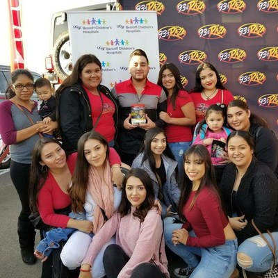 """KRZZ-93.3FM La Raza hosted """"Radiothon for Kids"""", a benefit for UCSF Benioff Children's Hospitals this past December 1st and 2nd in San Francisco, California"""