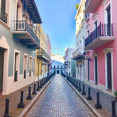 Puerto Rico announces it's officially Open for Tourism. Renowned cobblestone colored streets of Old San Juan taken just two-weeks ago are one of many sites for travelers to enjoy. All this just in time for visitors to experience the longest holiday season in the world, one which will be celebrated stronger than ever this year. It's no wonder why Lonely Planet named San Juan one of the Top 10 Cities to Travel in 2018. Visit SeePuertoRico.com for more.